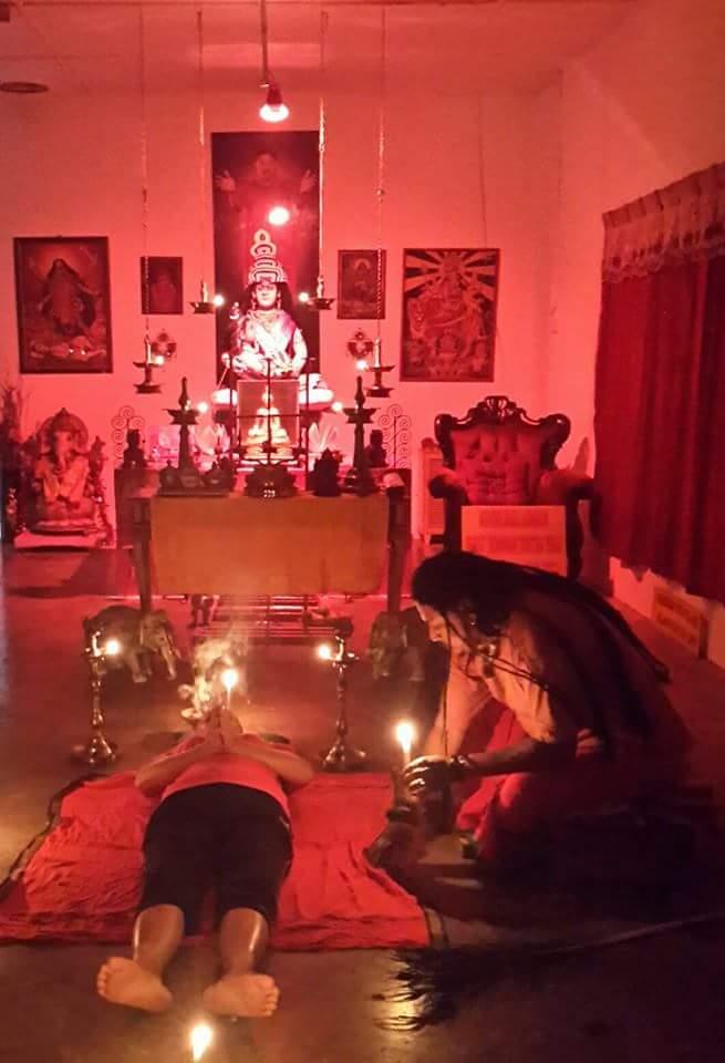 Heilungsritual für Krebspatientin/Healing Puja (Shiva Nirvathana Puja) for Cancer Patient