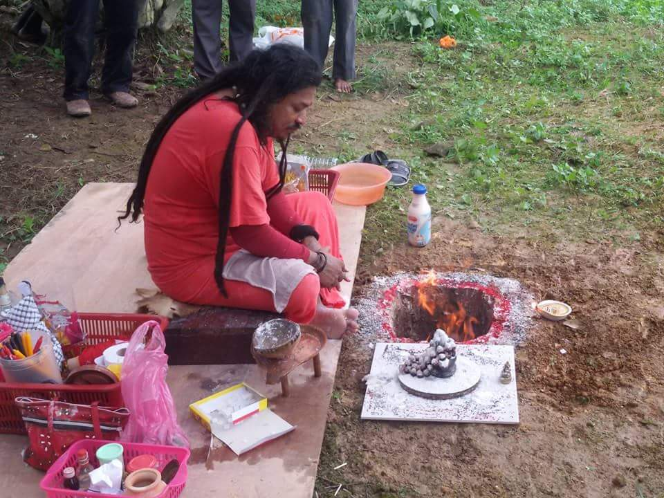 Moksha Puja for the departed soul, who passed away in train accident