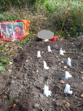 Prithvi Puja (Erde - Reinigungsritual) zur Reinigung von negativen Energien, Flüchen etc. mit Shankari Ma in Deutschland
