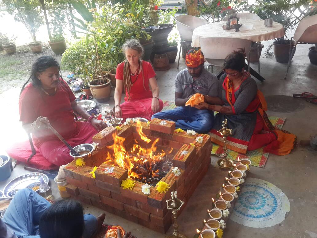 Yagna Puja for Happy and Prosperous Life done by Gurudev Aghori Baba