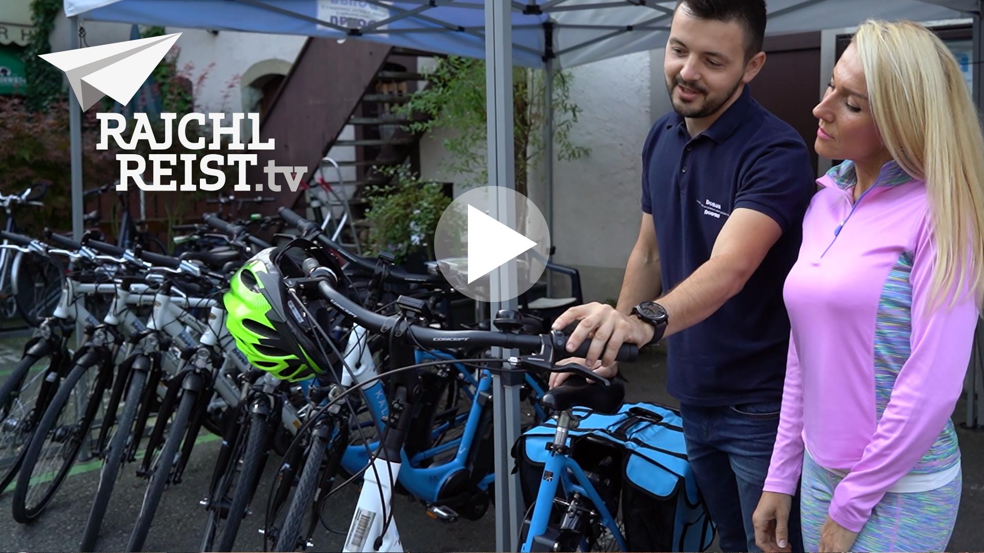 Rajchlreist.tv Projekt Radreise entlang der Etsch