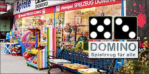 Spielzeug Domino in Hamburg