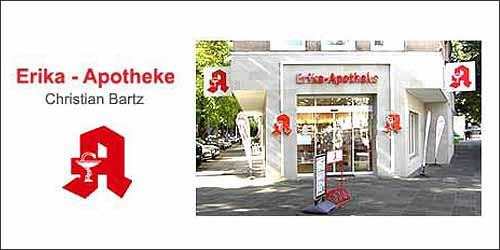 Erika-Apotheke in Hamburg-Eppendorf