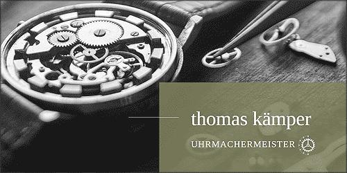 Thomas Kämper Uhrmachermeister in Hamburg