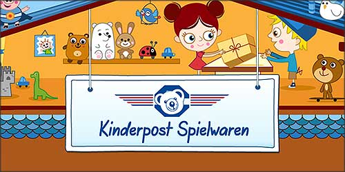 Kinderpost Spielwaren in Hamburg-Wellingsbüttel