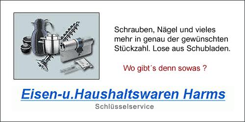 Eisen- und Haushaltswaren Harms in Hamburg-Hoheluft