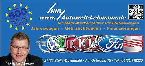 Autowelt Lehmann in Stelle