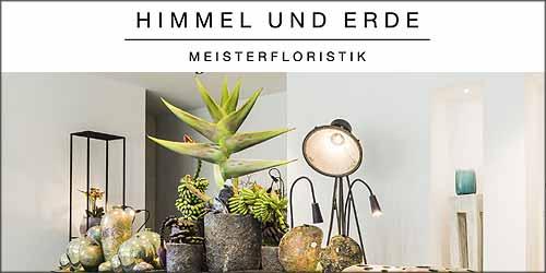 Himmel und Erde Meisterfloristik in Hamburg