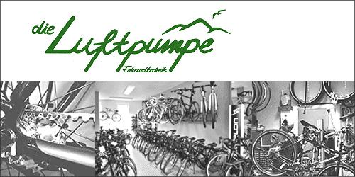 Die Luftpumpe Fahrradtechnik in Hamburg