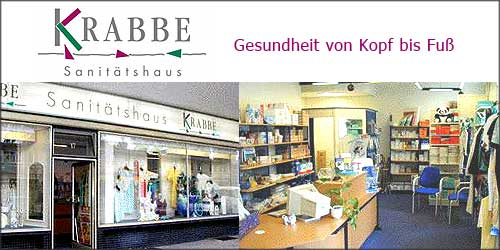 Krabbe Sanitätshaus in Hamburg