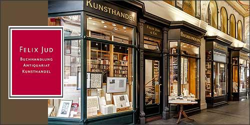 Felix Jud Buchhandlung und Kunsthandel in Hamburg