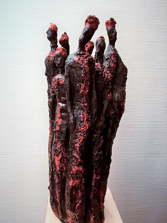Zusammenhalt | Keramik | 60 cm | 2016