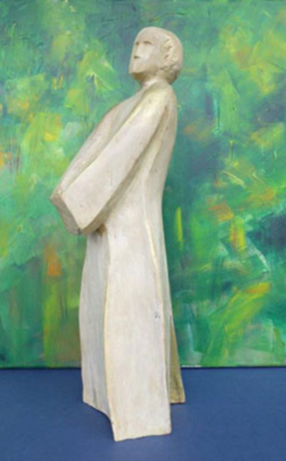 Engel ohne Flüge | Akazienholz | 60 cm | 2018