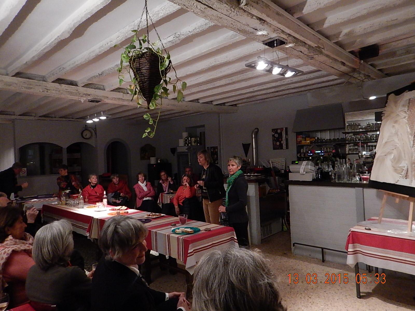 Rencontre littéraire avec les éditions LA CHEMINANTE au restaurant Xtanxtangorri à St Jean de Luz
