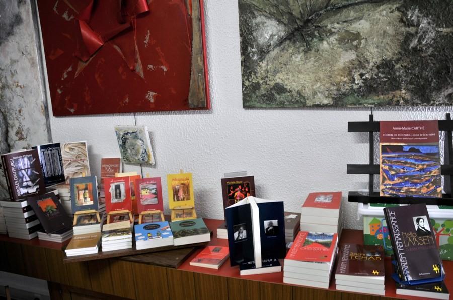 Fabrique d'Atelier et son espace littérature: Les auteurs de LA CHEMINANTE