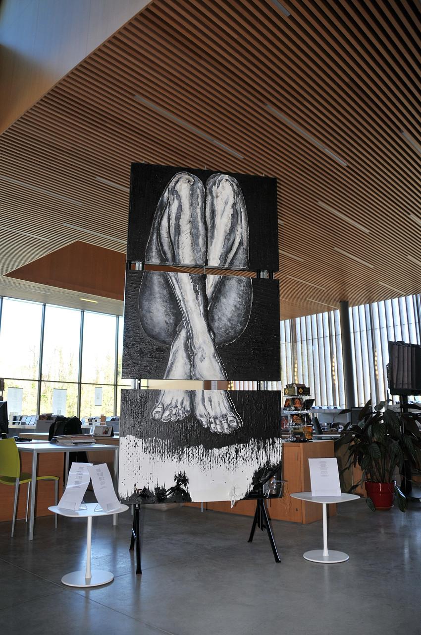 La veine noire : titre de l'oeuvre qui a fait la couverture de paroles d'Auteurs! de Nathalie Philippe