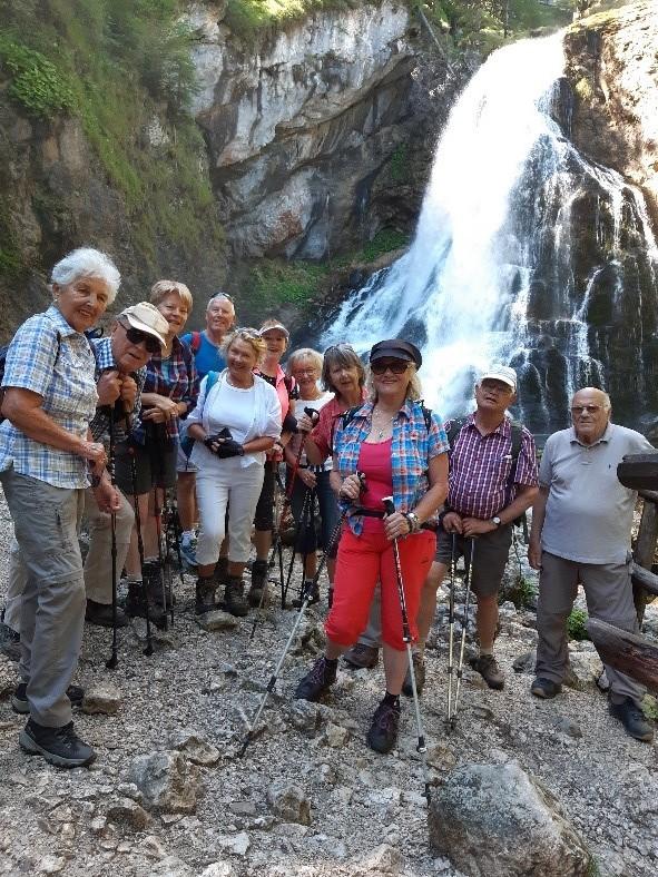 Wanderung zum Gollinger Wasserfall