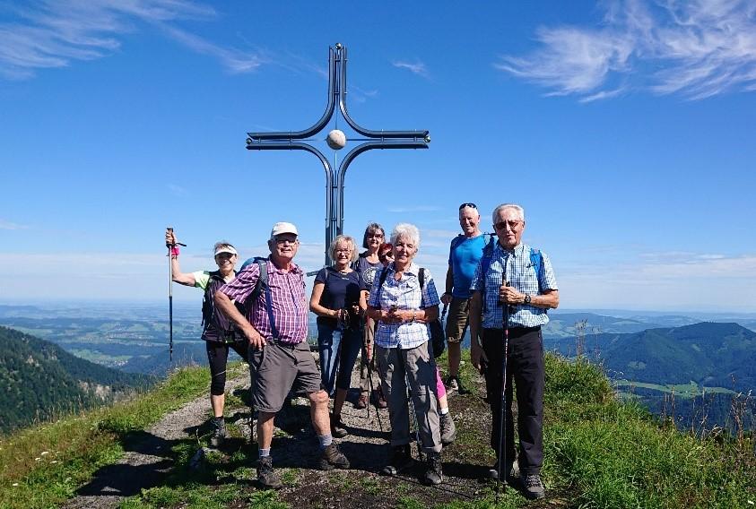 Auf zum Wieserhörndl (1.567 m)