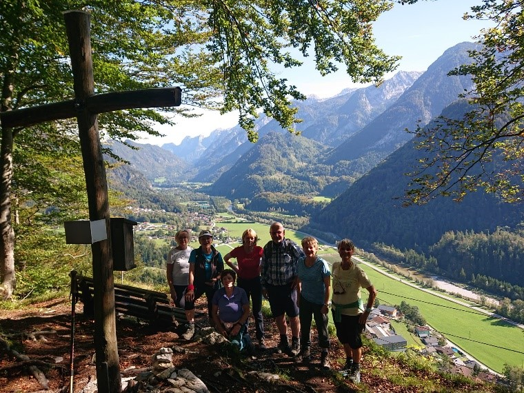 Wanderung auf den Mehlstein