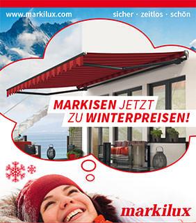 Winterpreisaktion Mb Markisen Terrassend Cher