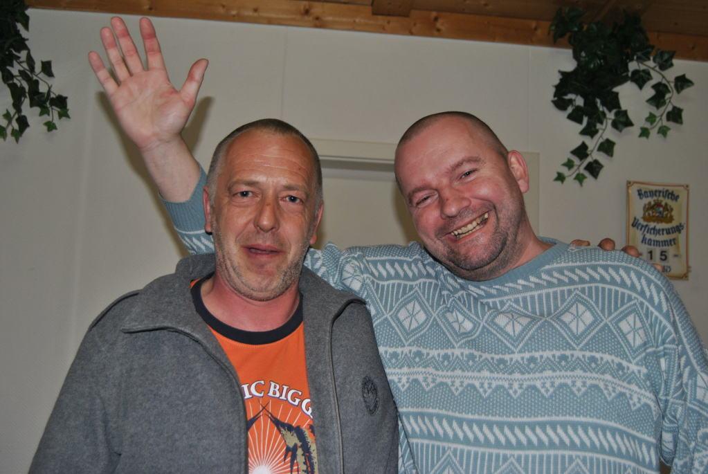 Die Sieger Hermann und Helmut