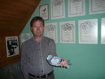 Der Vater der Siber Medailliengewinnerin Mira DV 339 ein Original Vogel von Willi Hertel