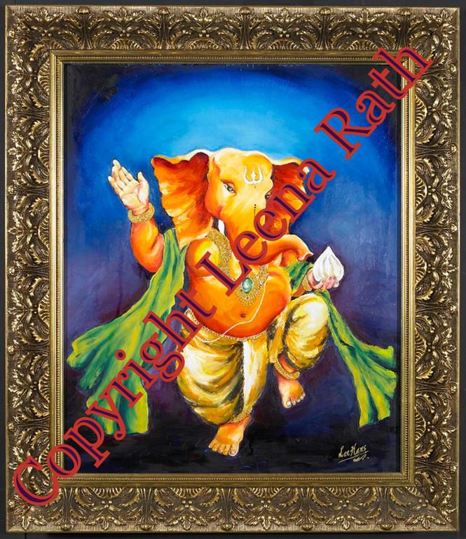 Shri Ganesha 50 x 60