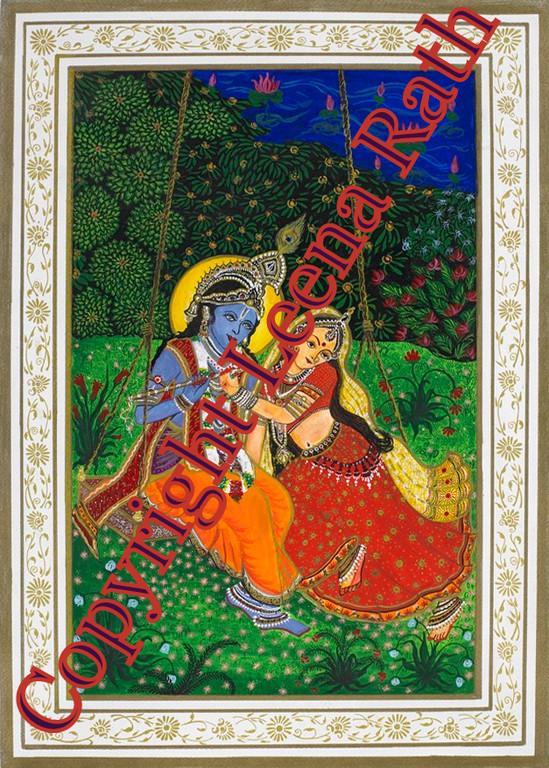 Shri Radha & Shri Krishna  30 x 40