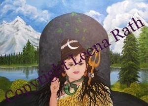 Shri Shiva 50 x 70