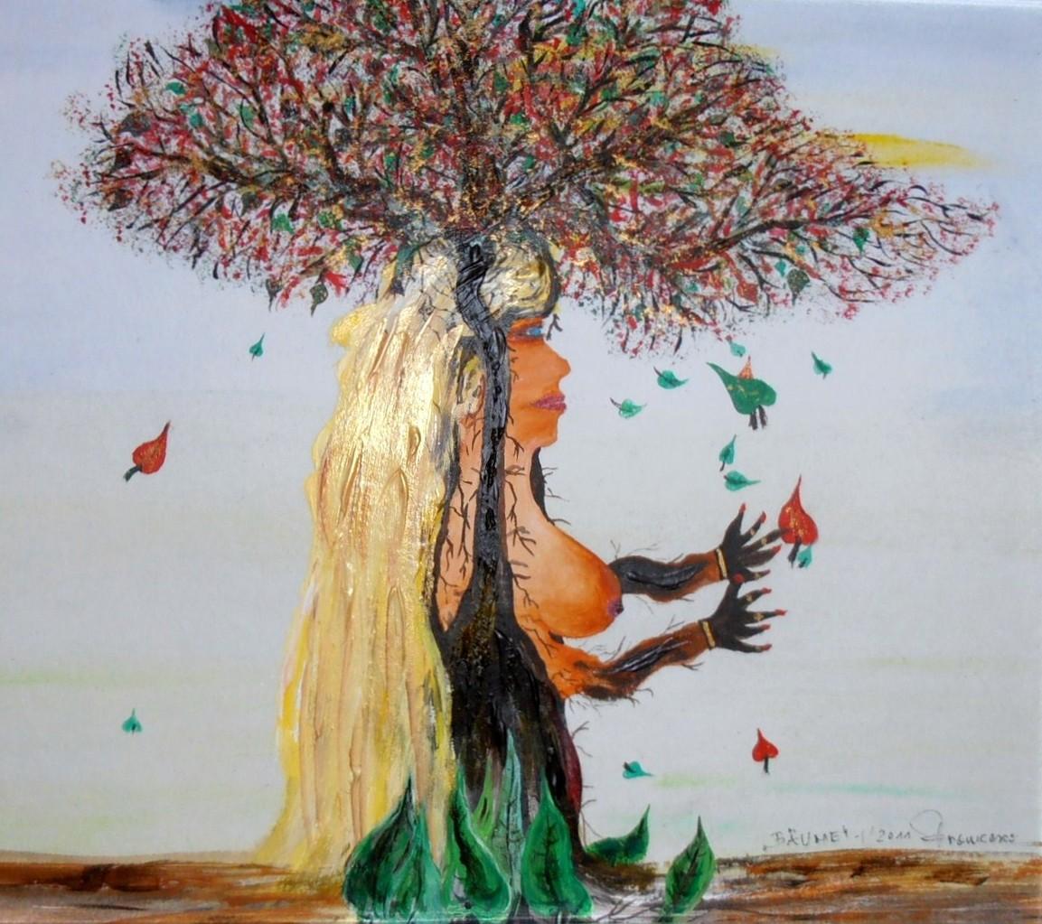 """""""Die Königin der Bäume""""                                  51*47"""