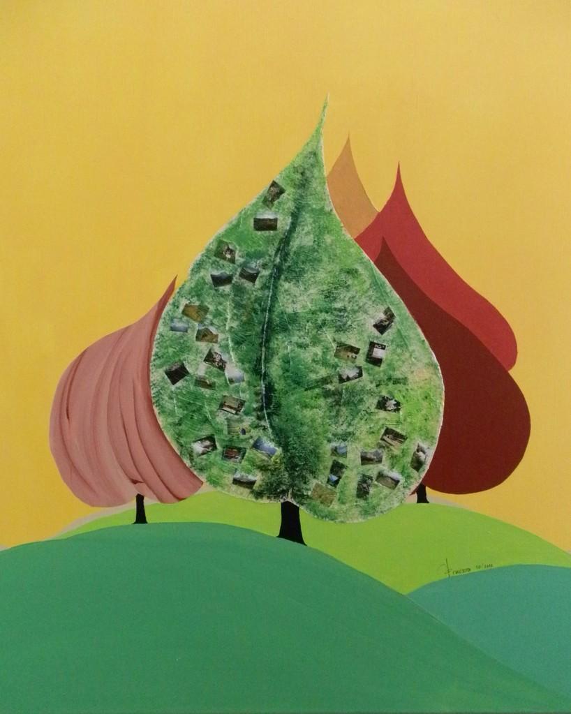 """""""Bäume ohne Blätter"""" 1                                   43*43"""