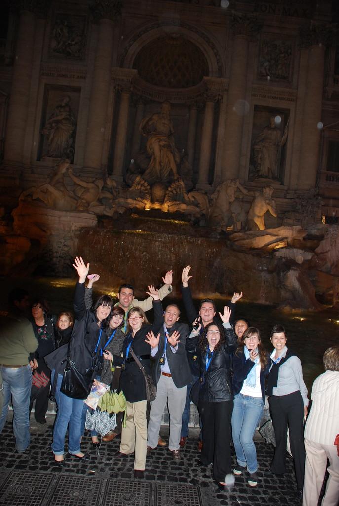 2008. Fontana di Trevi. Roma