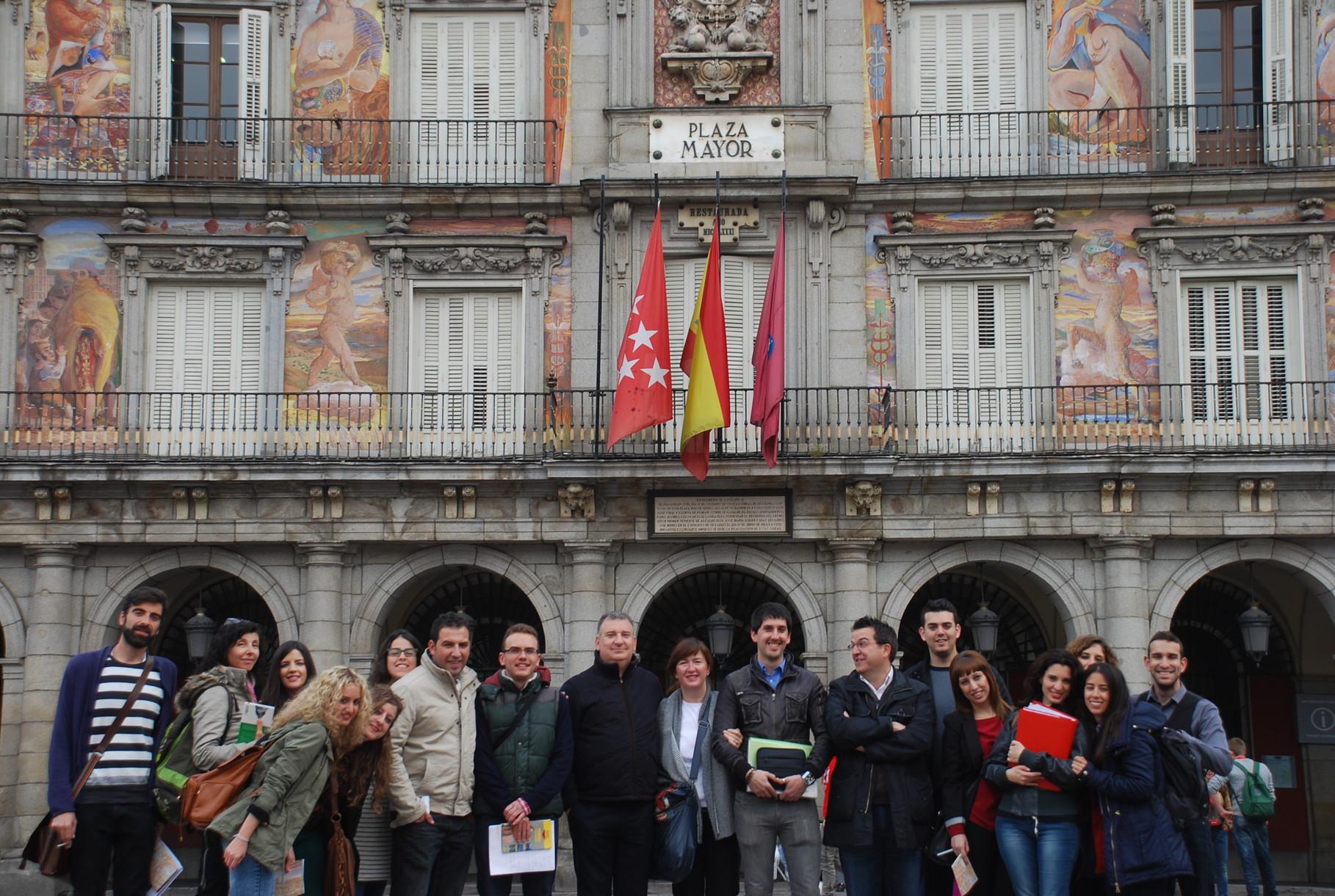 2014. Plaza Mayor. Madrid