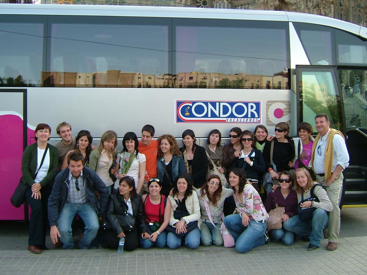 2005. Despedida en Barcelona