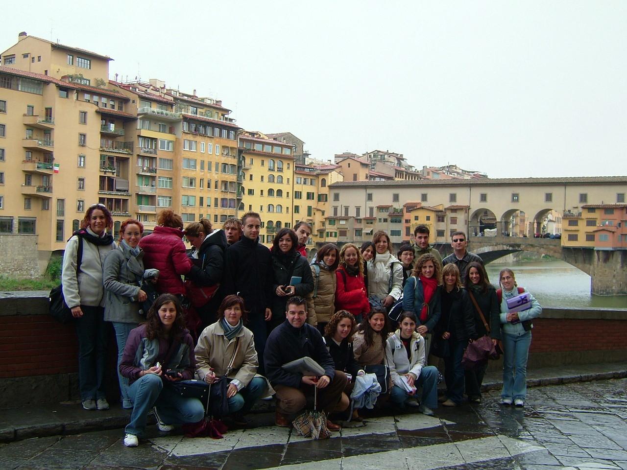 2003 Ponte vecchio. Florencia