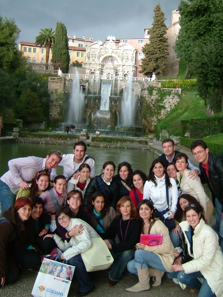 2004. Vila d'Este. Tivoli