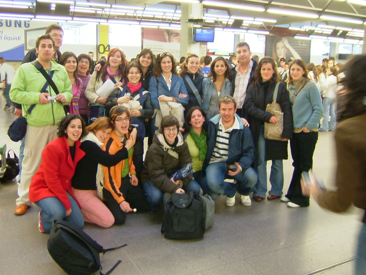2004. Salida aeropuerto