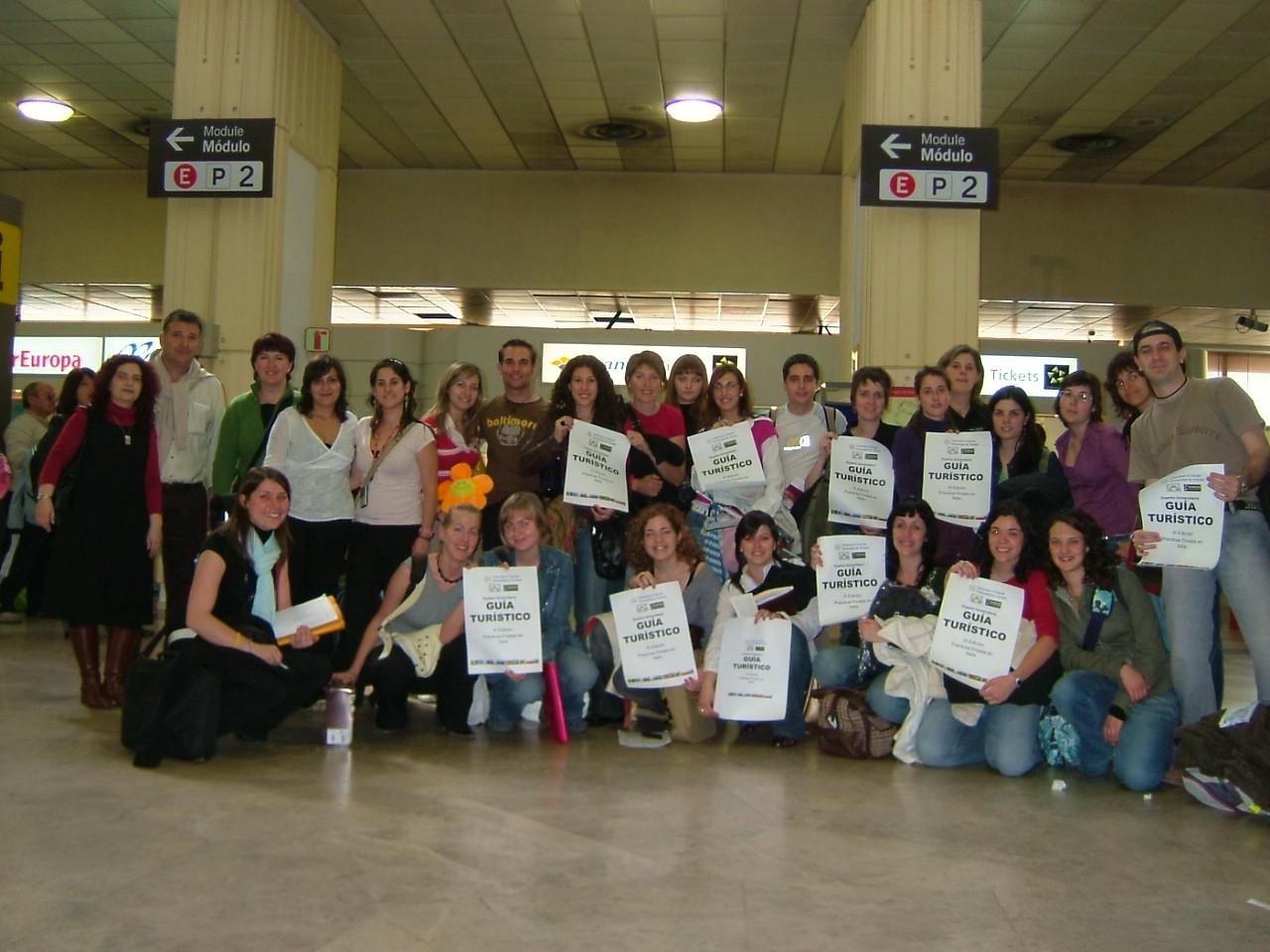 2005. Salida aeropuerto