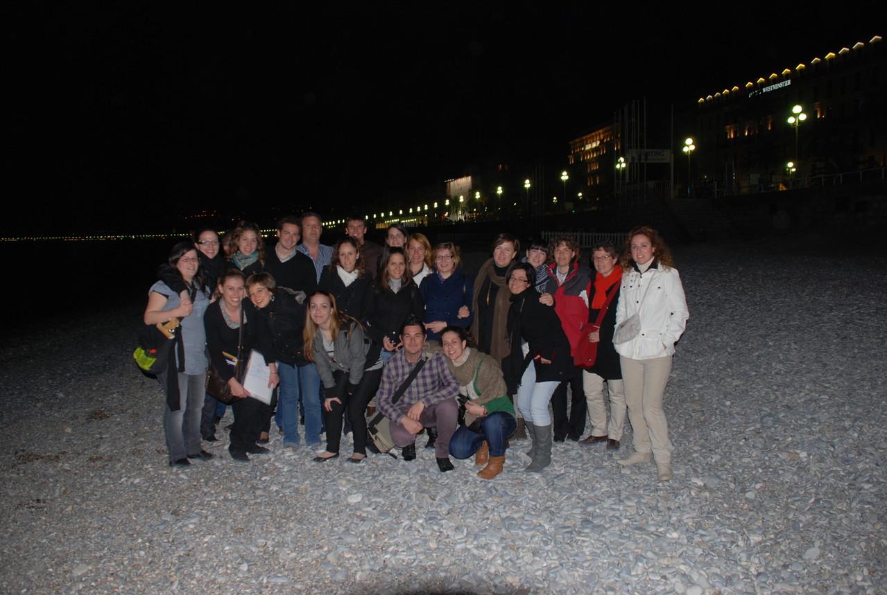 2009. Noche en Niza