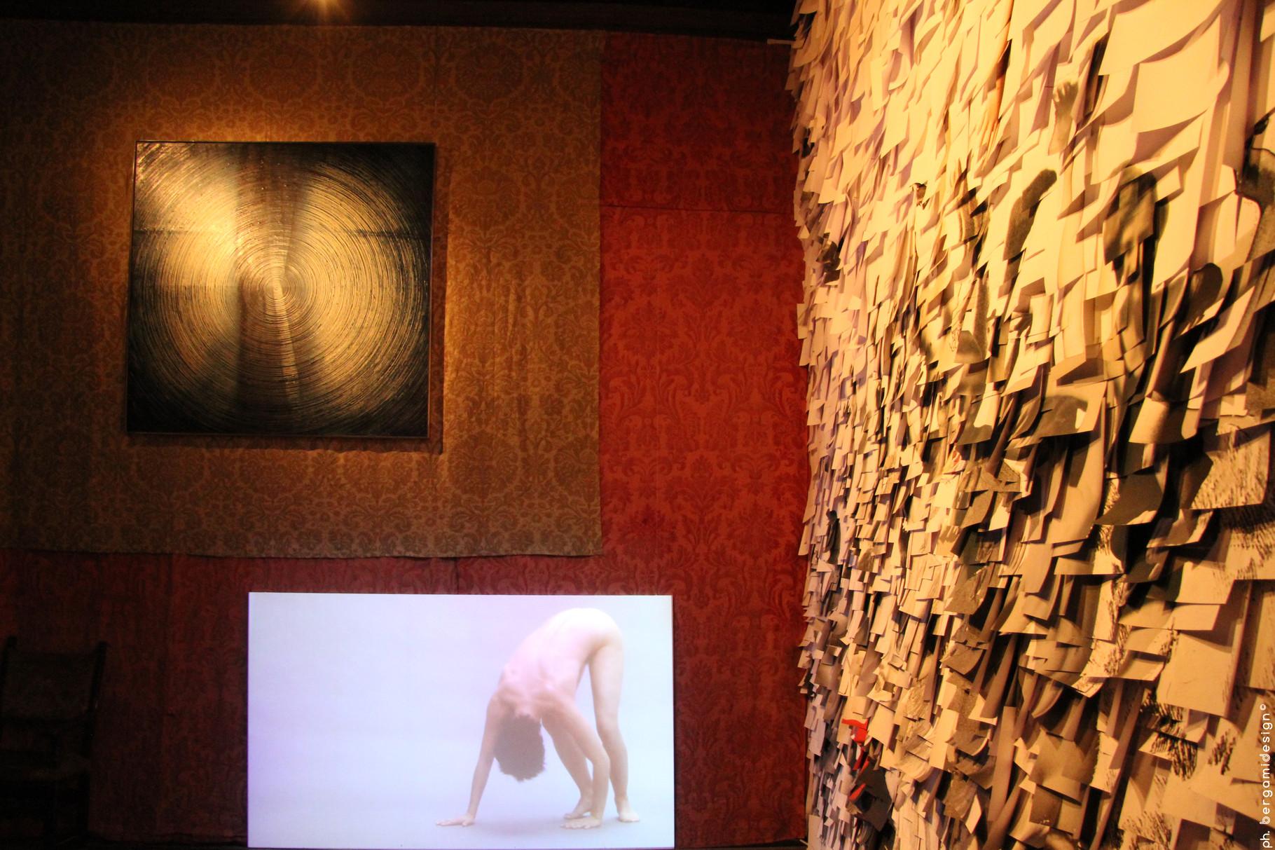 Panoramica della sala dedicata alla proporzioni del corpo umano