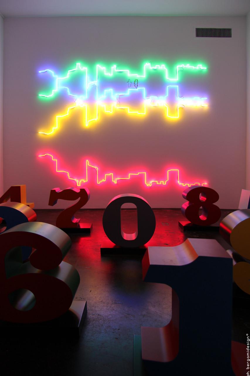 Numbers one through zero, Robert Indiana e Linee Sospese, Francesco Candeloro