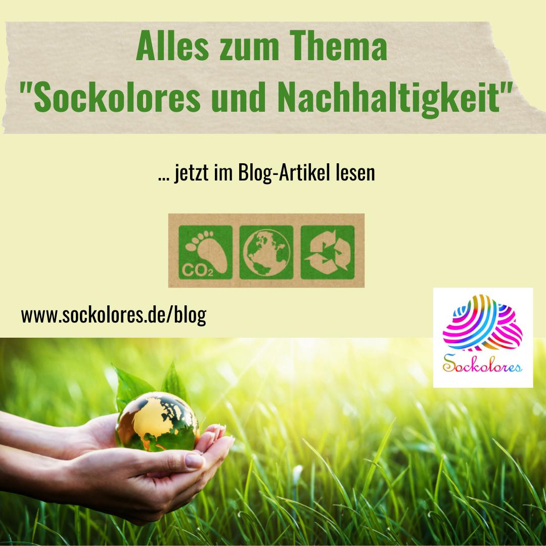 """Alles zum Thema """"Sockolores und Nachhaltigkeit"""""""