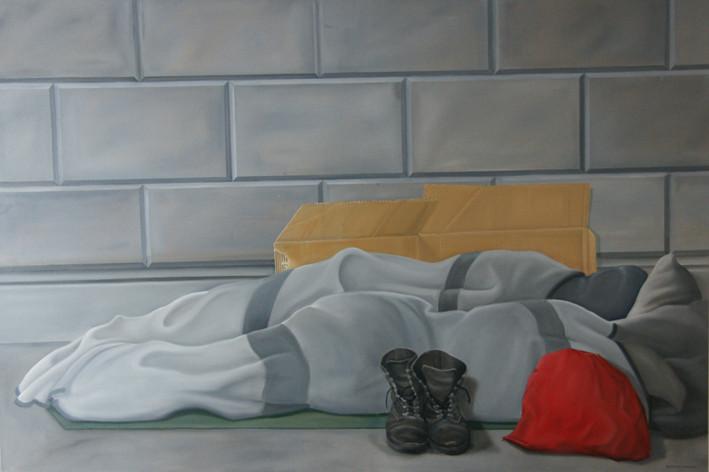 """""""Was hilft da Freiheit...I"""" 2011 100x150 cm"""