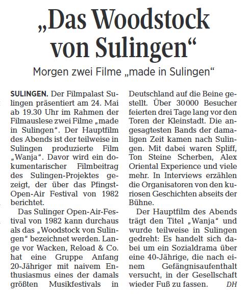 Die Harke 23.05.2017