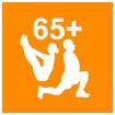 Grafik: Fitness-Training für Senioren PILATES 65+ in Hamburg