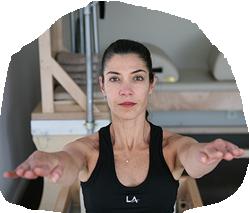 Foto: Luciana Pereira da Silva, zertifizierte Romana Pilates Trainerin bei PILATES Hamburg-Nord
