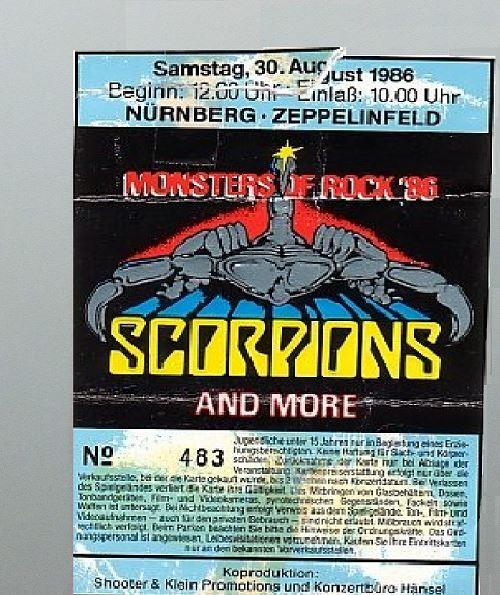 Rock in nürnberg 1985