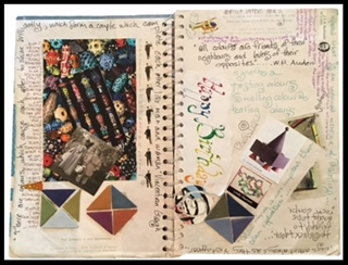 Not a journal, not a scrapbook. Dating back to the 90's