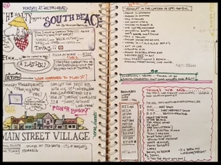 This one was more of a Journal, but less of a day planner. Dated  2003