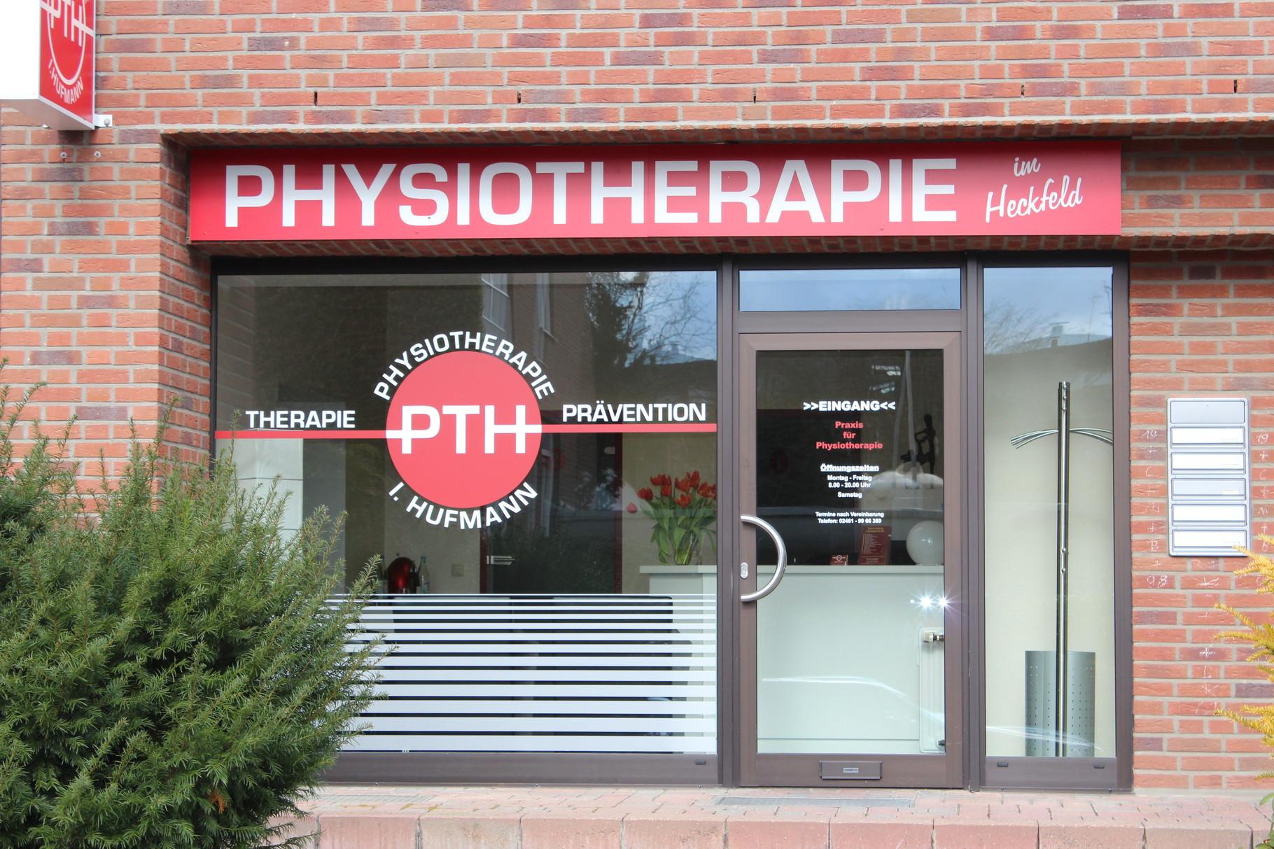 Eingangsbereich der Physiotherapiepraxis